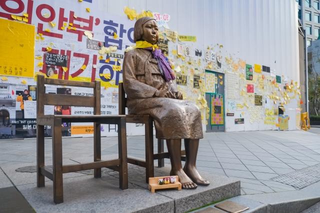 宙ぶらりん状態『従軍慰安婦問題の日韓合意』。|日本が拠出した10億円はどこに?